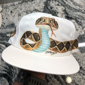 Vintage Old new stock Cobra Snapback baseball hat